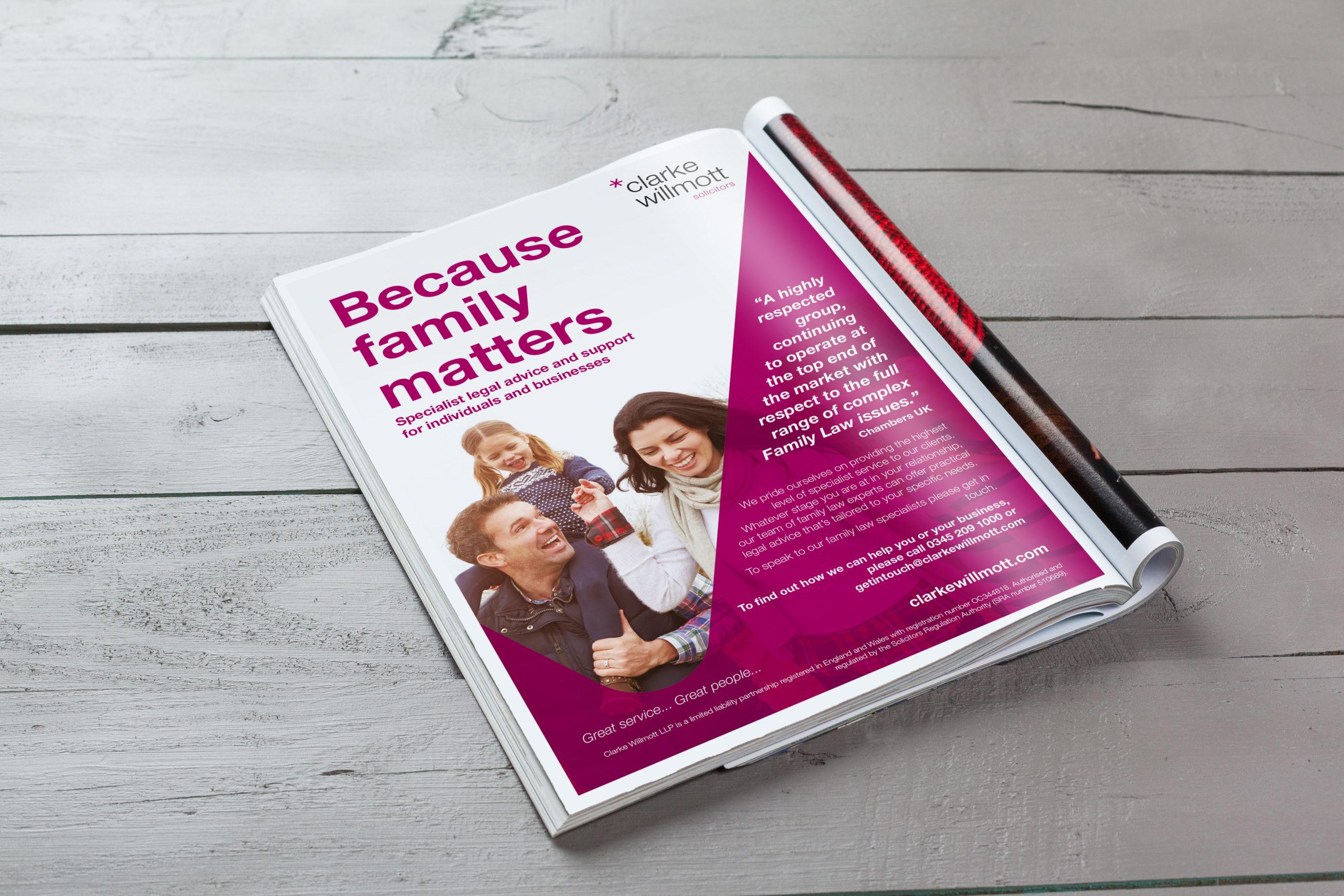 Clarke Willmott Family ad