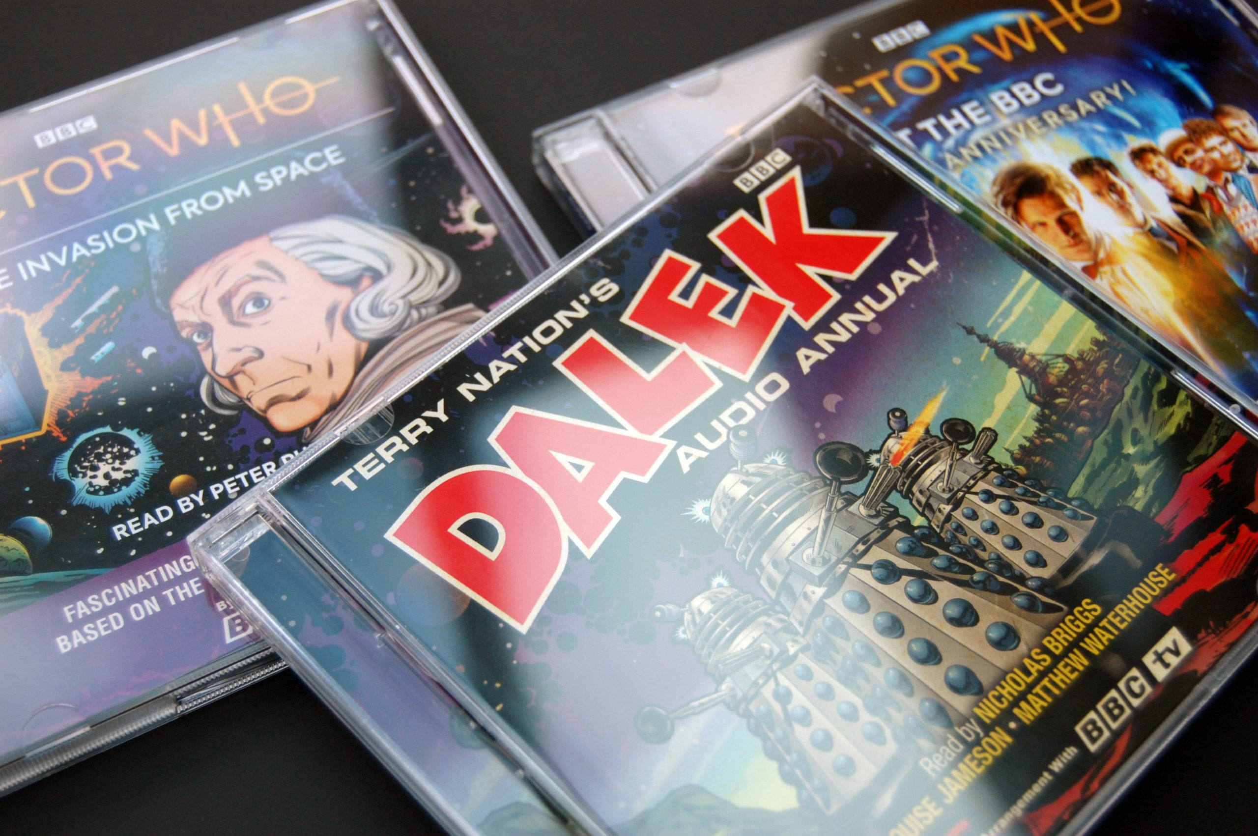 Dalek audio CD packaging